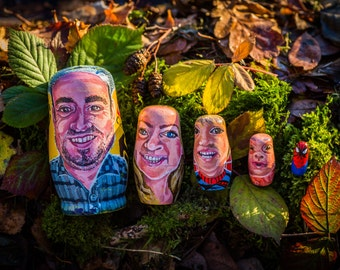 Russian dolls of your family