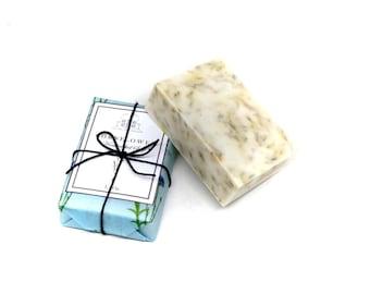 Cornflower Soap - Oatmeal & Shea - Bergamot