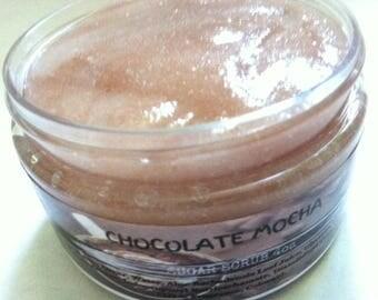 Chocolate Mocha Sugar Scrub. Aloe Vera Scrub. Hand & Body Scrub.