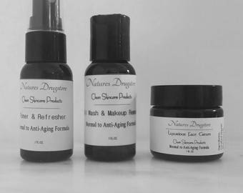 Luxurious Anti Aging Must Have Kit, Face Kit, Face Cream, Face Toner, Face Wash