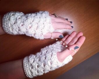 Sale Fingerless gloves knit fingerless gloves , gloves  crochet fingerless gloves romantic gifts, gifts under 20usd, gloves ,