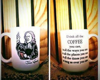 The JOHN WESLEY Coffee Mug