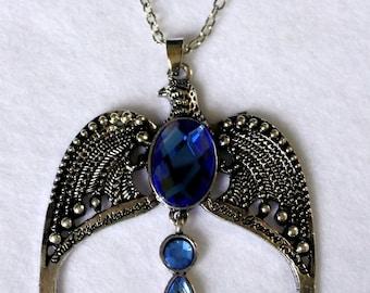 Rowena Ravenclaw Hufflepuff tiara necklace Harry Potter saga