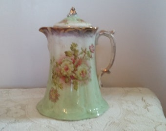 Antique vintage chocolate pot/teapot