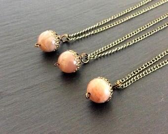 sunstone necklace, sunstone jewelry, sunstone pendant, sunstone stone, crystal necklace, necklace, sunstone, sun stone necklace, sun stone