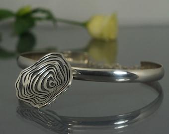 Silver pendant, handmade pendant, handmade jewelry, art jewelry, unique jewelry, artistic necklace, exclusive necklace, native jewelry.