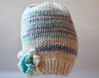 Newborn Hat Baby Hat Baby knit hat Kids hat Hand Knit Baby Hat Knitted baby hat Hand Knit Hat Wool hat