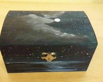 Night sky jewellery box