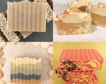 3 for 15.00 Deal!!! Handmade Soap. Select 3 and get 3 dollars OFF!