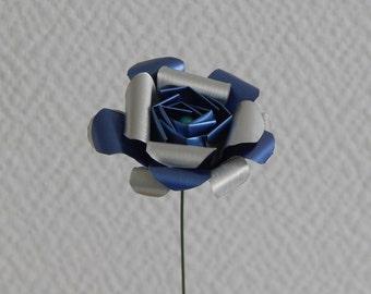 Eternal rose in light blue nespresso capsules