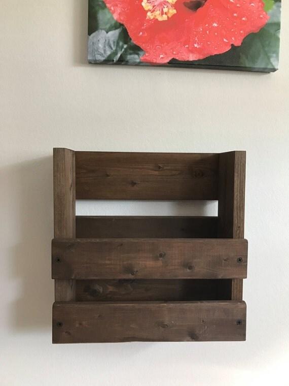 Eco friendly finish wood menu rack/ holder