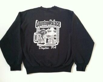 SALE!! Country Palace crew neck sweatshirt