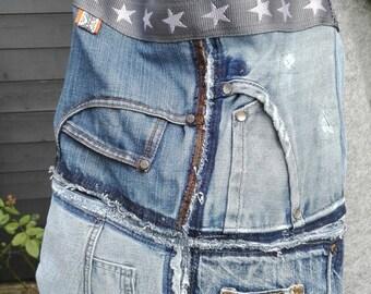 Special bag of vintage jeans