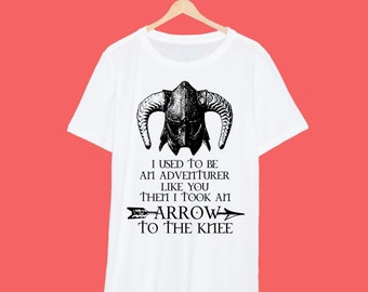 Skyrim 'I used to be an Adventurer' T shirt