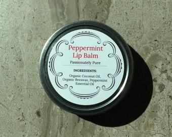 Peppermint Lip Balm - 2 oz