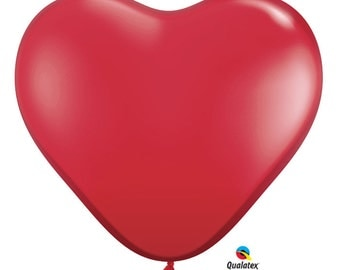 Giant Latex Balloon Heart 3 ft