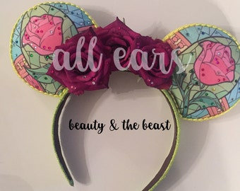 Mickey Mouse Ears Beauty and the Beast