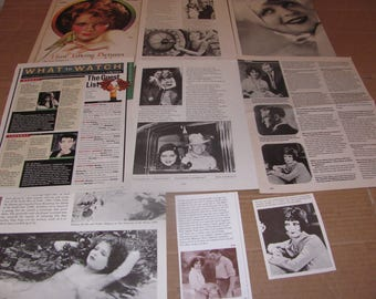 CLARA BOW   #2   CLIPPINGS  #0309