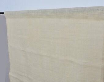 Linen cotton curtain -  Organic fabric - custom made