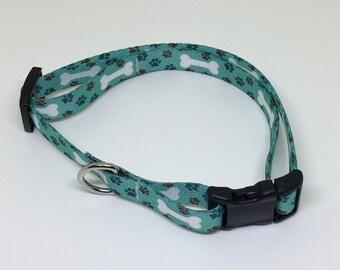5/8' Cat and Small Dog Adjustable Collars - Size: Medium