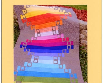 Over the Rainbow Quilt Pattern