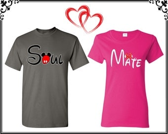 Soul Mate Couple T shirts Soul Mate Couple T-shirts Soul Mate Couple Shirts Soul Mate Couple Tees Gift For Couple