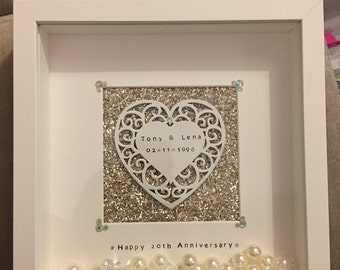 Lace Heart Frame