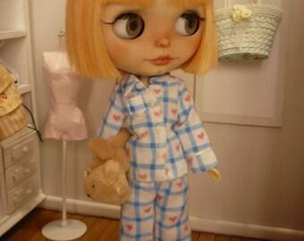 Sleep pajamas for blythe or pullip