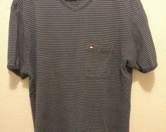 Vintage Tommy Hilfiger Men's Short Sleeve Pocket Shirt Medium