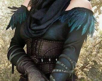 Yennefer Witcher Costume Wild Hunt Cosplay Witch Handmade