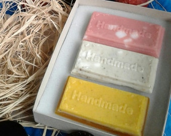 Fall Trio Organic Soap Set