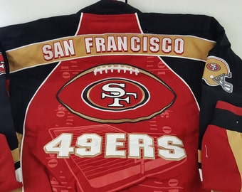 San Francisco 49ers Yard Line Jacket