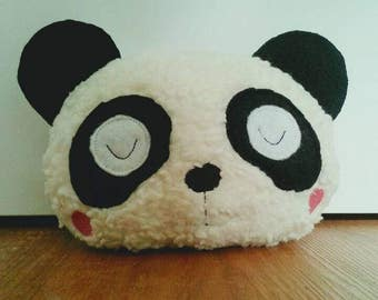 "Music Box ""Panda""-sewn and embroidered with love"