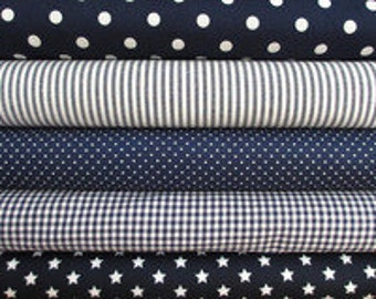 Fabric package Navy article 038