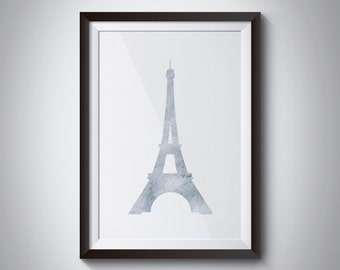 eiffel tower print, custom print, paris print, custom paris print, little girl decor, home decor, paris decor, paris home decor