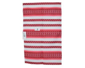 Towel Ethnics Ornament National Ukraine Embroidery Print Decor Kitchen Crockery