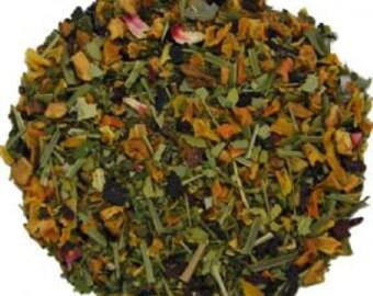 Wellness Tea - Loose Leaf tea -Orange Grapefruit Tea - Green Tea