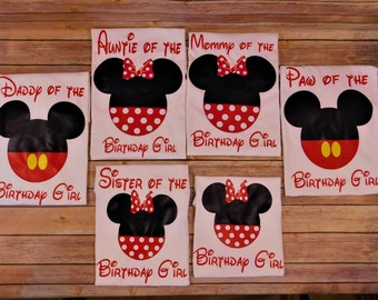 Disney birthday shirts, Custom Disney matching shirts, Disney family shirts, Disney vacation, Birthday shirts with name, Disney Cruise,