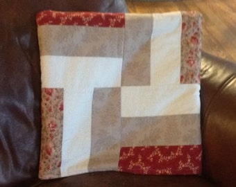 Handmade quillow, quilt and pillow as one, travel pillow, travel blanket, car blanket