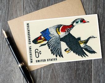 Wood duck, duck cards, ducks unlimited, bird watcher gifts, hunter gifts, duck gifts, duck art prints, wood ducks, wood duck cards, ducks