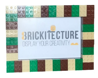 Picture Frame - Camo - Authentic 2x3 LEGO Bricks