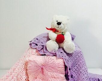 Handmade Crochted Baby Blanket