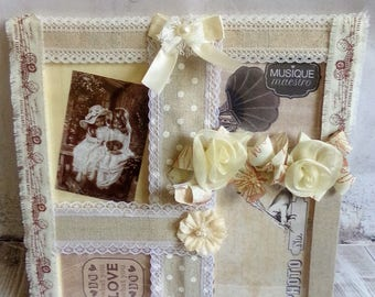 Spirit shabby chic photo frame