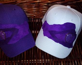 Purple baseball cap 20% off! Apply code SUMMERSALE2017