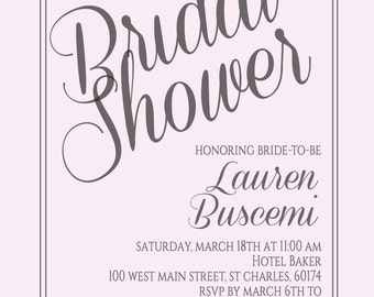 Bridal Shower - DIGITAL DOWNLOAD