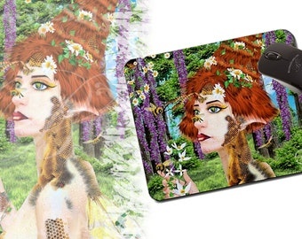 Beewildered - Mouse Pad - Fantasy
