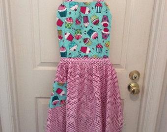 Adult cupcake apron