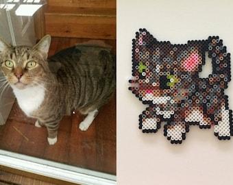 Custom Made Pet Perler Magnets