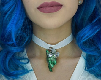 Ezmeralda Queen of Emerald City - Choker Necklace