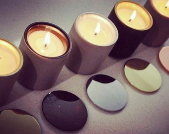 Mini Concrete Soy Candles Range | Wedding Favours | Party Favours | Thank you Gifts |